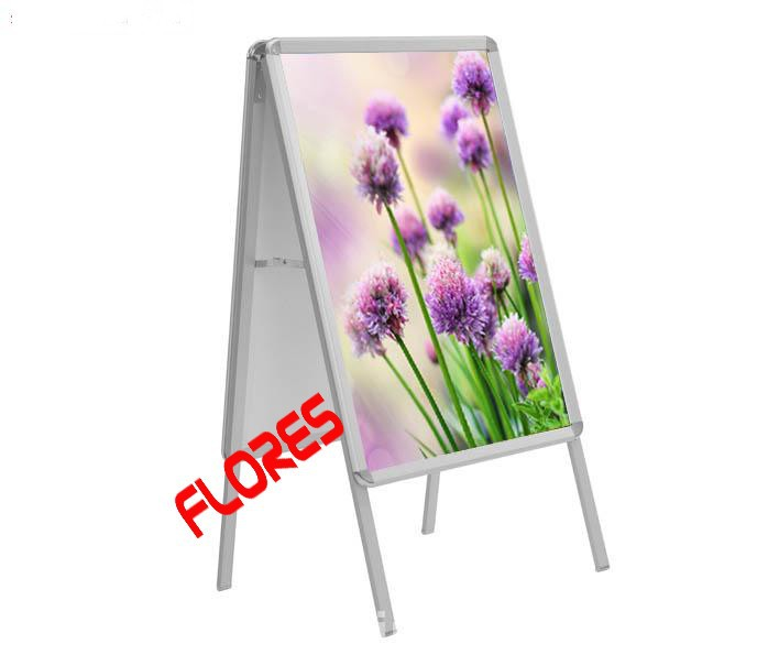 competitive price 32mm A1 aluminium double sided poster board