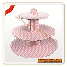 Customized decorative pie plates plexiglass cake display/stand/shelf/rack/showcase