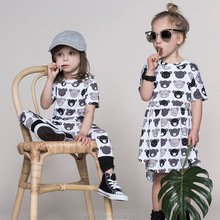 oem product summer dress 2017 kid dress China factory dress shirt