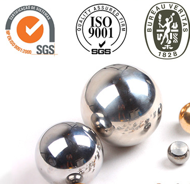 China polishing and shiny carbon steel ball 6.35mm for bicycle