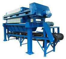 Latest technology chamber filter press dewatering mg
