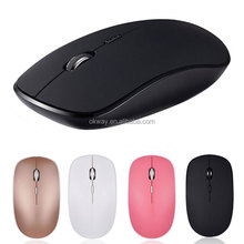 Quality USB 2.4Ghz Optical Mute Noiseless Computer Wireless Mouse For Laptop Desktop
