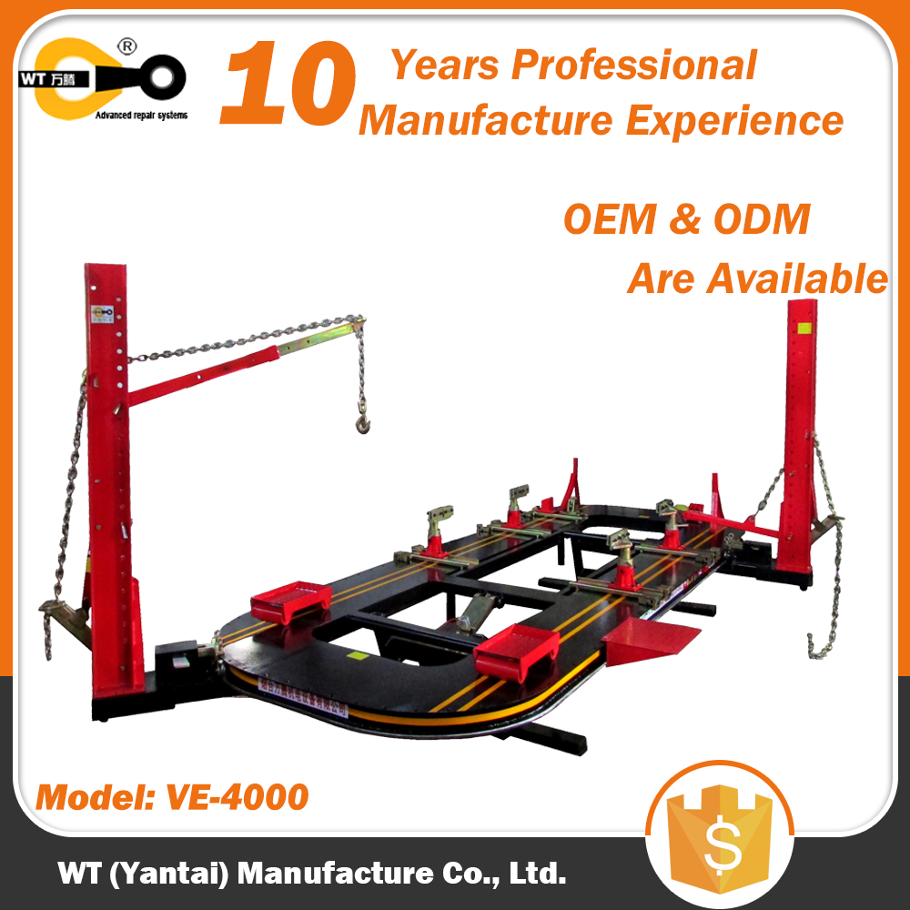 WT VE-4000 Car Collision Repair Frame Table Measuring System