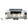 FV-52 utility food cart food cart motorcycle food refrigerated display case