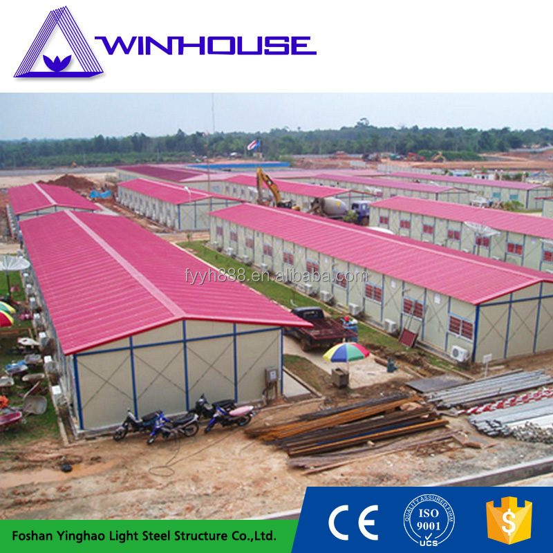 Chinese factory Low cost prefabricated houses prices for sale