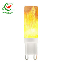 E14 E27 G4 G9 C37 flame effect bulb uk LED electric fire bulbs flicker candle