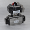 China made cheap price high quality electric ball valve with APL2N limited switch box by signal indicator