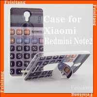 For Xiaomi Redmini Note2 pu leather with tpu soft mobile phone case cover