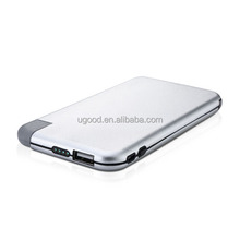 2015 best product shenzhen consumer electronics product,rechargeable portable power bank,6000mAh USB power bank