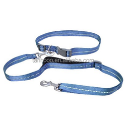 double dog leash for running dog