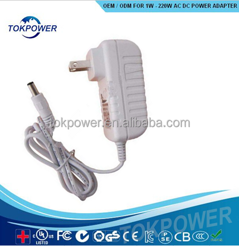 china supplier AC DC universal adapter 12 V white electric bike power supply 12v