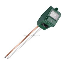 China Manufacturer 3 in 1 Water & Light & PH Moisture Plant Soil PH Meter