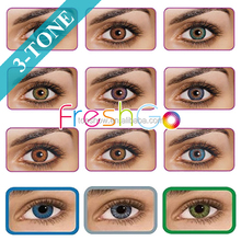 HOT NEW 12 colors freshGo One Year contact lens soft color contact lenses