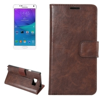 High quality Crazy Horse leather case for Samsung galaxy note 5 mobile phone case