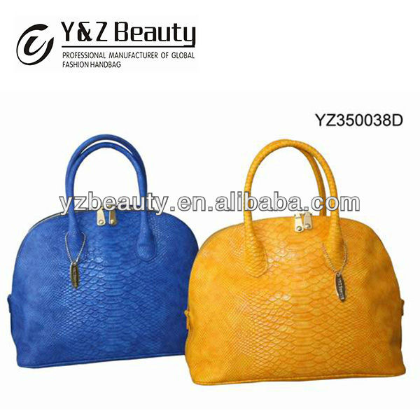 Fancy Brand Fashion Women Bags Handbags Leather Tote Snake Bags