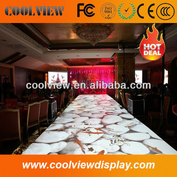 short throw camera 1024*768 pixels entertainment advertising custom size CE certificate best price interactive flooring