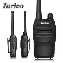 Cheapest military quality Mini Inrico IP118 VHF UHF 3-8km calling distance 16 Channel Professional handy cb radio