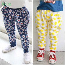 best selling products for kids/baby pants/flower pattern pants
