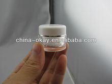 5g round acrylic jar/cosmetic container/small plastic jar
