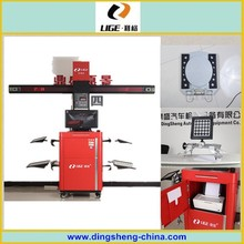 four wheel alignment car test diagnosis automotive equipment