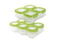Baby Food Storage Baby Blocks Set