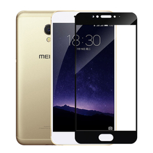 FULL COVER Ultra thin 0.2mm Cellphone Tempered glass screen protector for Meizu MX4 Pro / MX5