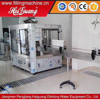 Good quality and reliable price automatic plastic bottled mineral water filling machine