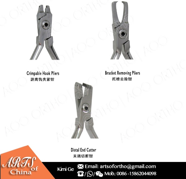 AO Ortho High quality TC hard wire cutter orthodontic pliers