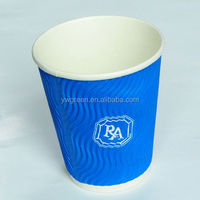 2014 new design wholesale coffee paper cup reusable coffee cup