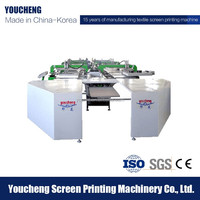 Korea Tech High speed large format solvent printer, home textile printing machine price