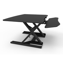 Ergonomic height adjustable computer sit stand desk/workstation in home/office (JN-SD08)