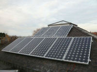 BPS 6kw high efficiency balcony hanging solar power system