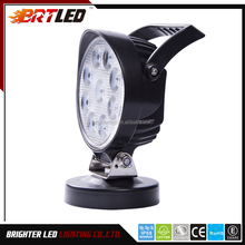 4x4 Car Accessories 5'' 27w Led Work light, driving light for car motorbike , ECE work light for cars