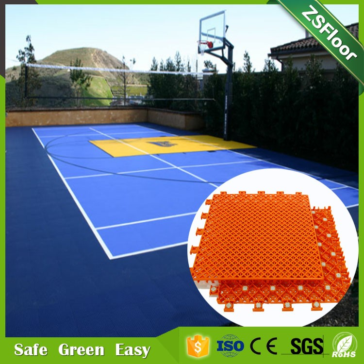 High quality basketball court floor mat tiles price