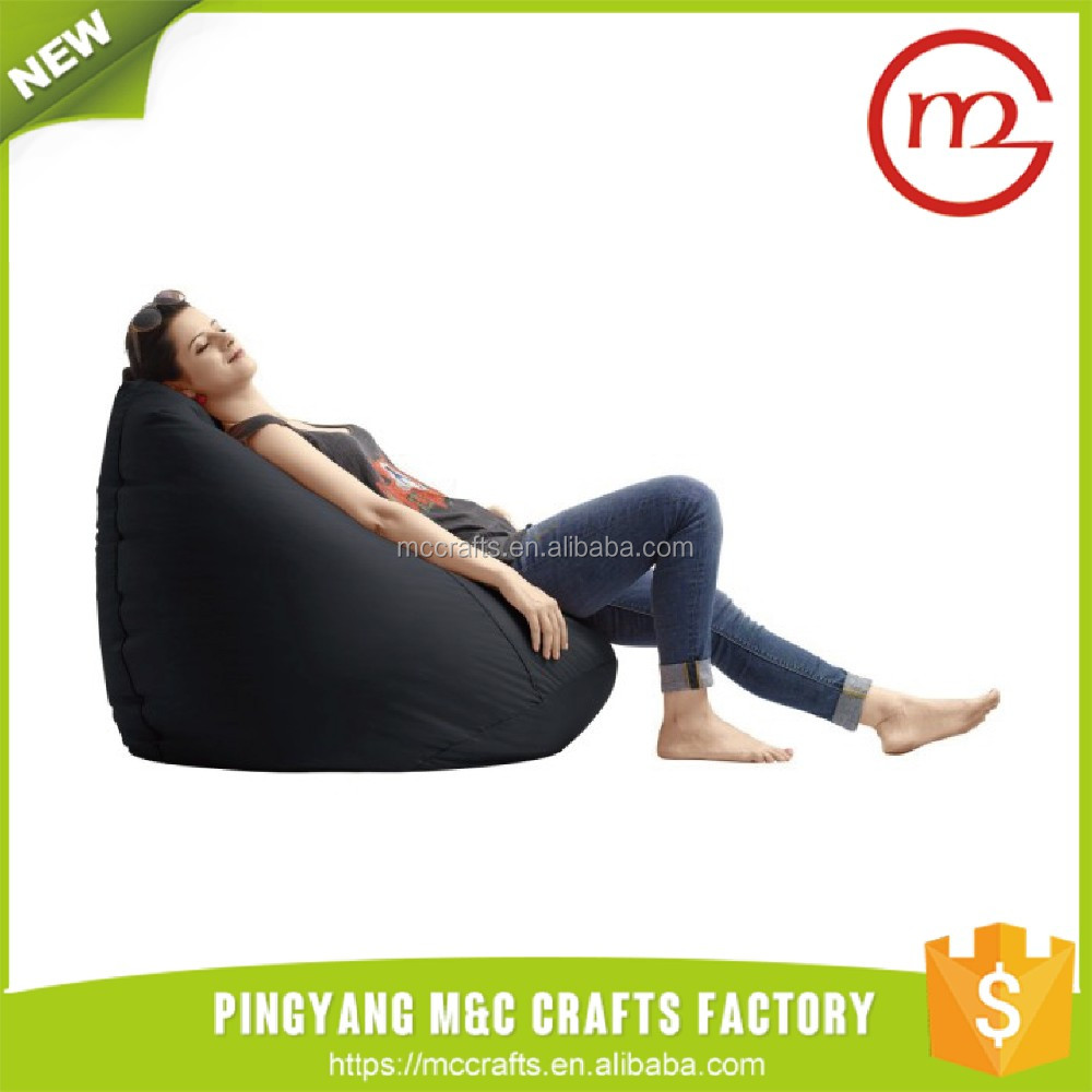 Bulk sale cheap best selling relaxing lazy sofa style giant bean bag