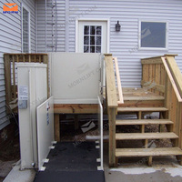 CE approved outdoor wheelchair lift electric disabled lift