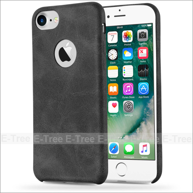 Wholesale Retro Ultra Thin Pu Leather +PC Hard Back Case For Apple iPhone 7