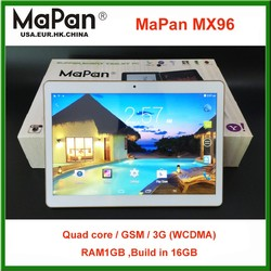 9.6 inch MX96 android laptop made in china call-touch smart tablet pc