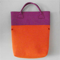 Hot promotion eco friendly product manufacturer felt tote bag