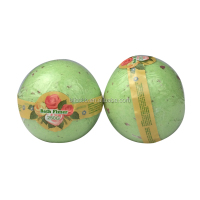 Wonderful Papaya & Green Tea Aroma Big Bath Fizzle Bomb Blend Col Soap Confetti 250g Bath Fizzy Bath Bombs Wholesales