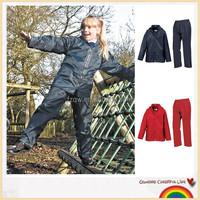 Waterproof jacket and trousers children rain suit