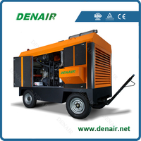 7 8 10 12 bar high efficiency portable air compressor for sand blasting