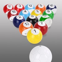 snookball giant billiard pool soccer balls