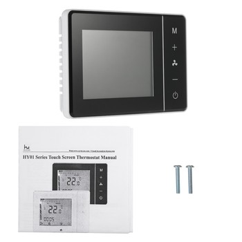Room digital air-condition touch screen thermostat programmable