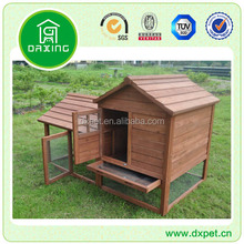 Rabbit Hutch Cage Large Run Wooden Roof Guinea Pig Clean All-day DXR025