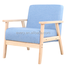 Wooden Frame Soild Wood Hotel Luxury furniture model PU Leather Upholdtery Fabric Types of Sofa Set Leg Design China Sofa Chair