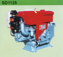 Diesel Engine Model SD1125, water cooled and 4 stroke type