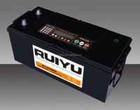 Export High quality 12V N180 180AH Sealed maintenance free lead acid car battery
