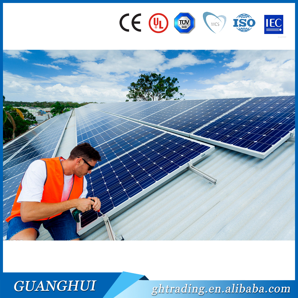 hot sale mono 255w 265w 285w 300w solar product new online 4bb solar panels best price per watt for swimming pools