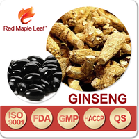Natural Panax Ginseng Root Extract Powder Capsules, Softgels, supplement - Manufacturer, Price, OEM, Private Label
